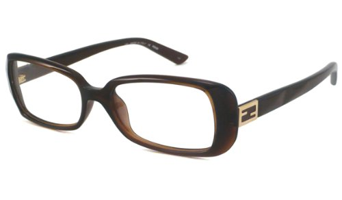 Fendi Rx Eyeglasses - F898 Brown / Frame only with demo - Fendi Frame