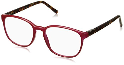 Peepers Women's Indian Summer 2264175 Oval Reading Glasses, Red, 49 mm (Indian Glass Oval)