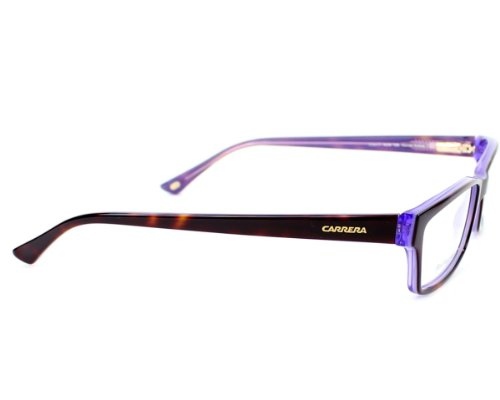 59a1ef14f468aa ... Carrera Montures de lunettes Ca6171 Violet Pattern   Orange, 52mm Violet  - Marron