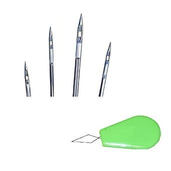 50pcs Tamaño 16 18 20 21 23 órgano 135 x 16 Triangle punto de piel industrial