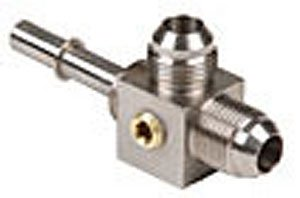 Aeromotive (15116) -8AN Male Flare Tee Fitting, Stainless Steel by Aeromotive