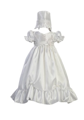 Taffeta Christening Baptism Dress Accent product image