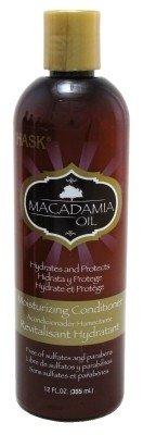 - Hask Macadamia Oil Moisturizing Hair Care Conditioner, 12 Fluid Ounce - 6 per case.