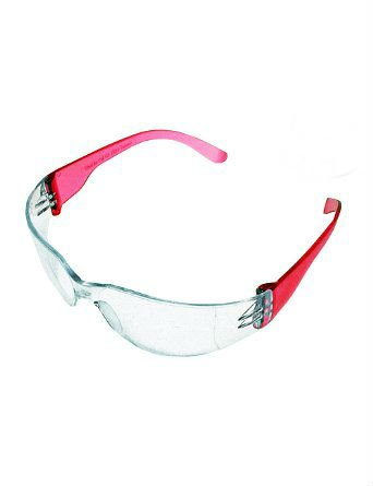 childrens ,GIRLS, LADIES SMALL PINK frame SHOOTING SAFTEY GLASSES -GREAT FOR AIRSOFT, PAINTBALL, AND TARGET SHOOTING -metrO Safety Glasses - ()