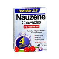 NAUZENE TABS CHEWABLE 40 by Nauzene