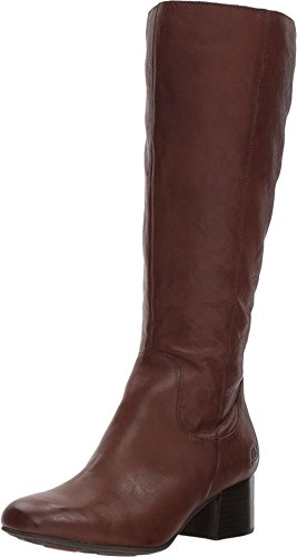 Born Women Avala Knee High Leather Boots (9.5 M US, Brown Full ()