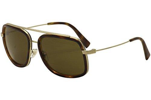 Versace Sonnenbrille (VE2173) PALE GOLD/HAVANA