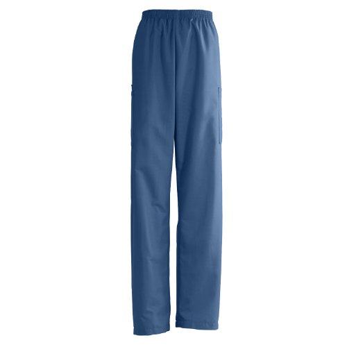 isex Elastic Waist Cargo Scrub Pant, X-Large, Navy (Medline Angelstat Ladies Elastic)