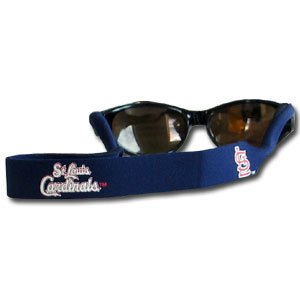 St. Louis Cardinals Neoprene Sunglass Strap (Croakies) - MLB Baseball Fan Shop Sports Team - Sunglasses Shops