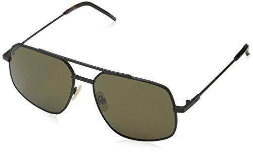 Sunglasses Fendi Ff M 7 /S 0003 Matte Black / 70 brown lens
