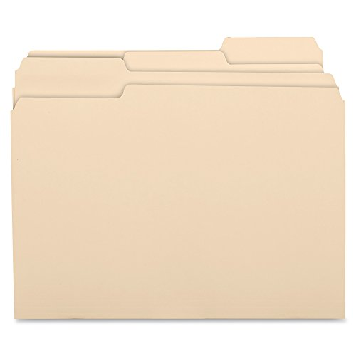 Business Source Top Tab Manila Folders File Folder (17525) from Business Source
