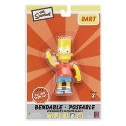 The Simpsons : Bart Simpson 4 inch Bendable Figure