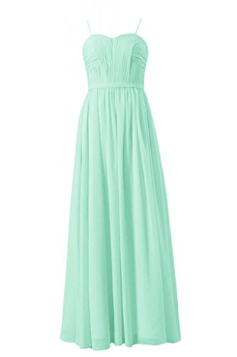 Long Mint DaisyFormals Chiffon Bridesmaid BM1037O Sweetheart Dress Elegant aRRqwO