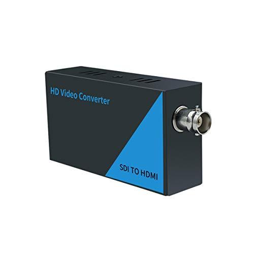 AAO SDI to HDMI Converter Adapter, 3G-SDI/HD-SDI/SD-SDI Auto Format Detection, Full HD 1080P SDI to HDTV Audio, Video & Audio Synchronous Output.