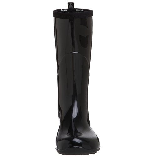 Kamik Women's Heidi Rain Boot,Black/Noir,8 M US