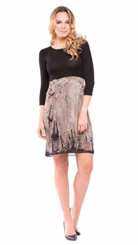 Olian Jolie Chiffon Maternity Dress (Small)