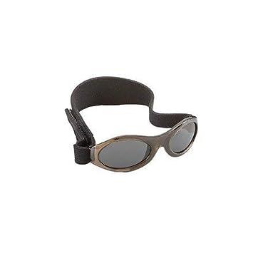 BABY BANZ BUDZEE Gafas de sol para Bebés de 0 a 2 años. (Onyx).