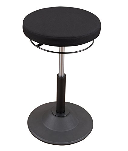 Ergonomic Adjustable Active Standing Desk Chair - Safely Rock,...
