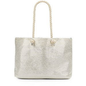 saks-fifth-avenue-silver-metallic-paper-straw-tote