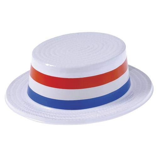 (Plastic Patriotic Skimmer Hats (Pack of 36) 4th of July Patriotic Skimmers)