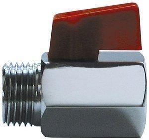 Brass Ball Valve Resistant Tap Male to Female Air Compressor Hose 1//4 BSP BBC