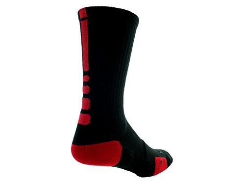 Nike Adulto Black Unisex Red Calzini Elite Basket Da vwyqUFrv1O