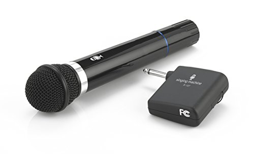 The Singing Machine Microphone - Singing Machine SMM-107 Karaoke Wireless Microphone (Black)