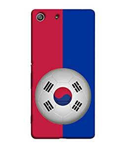 ColorKing Football South Korea 09 Multi Color shell case cover for Sony Xperia Z3
