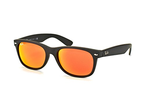 Ray-Ban Red Mirror New Wayfarers RB 2132 622/69 55mm + Free SD Glasses + Cleaning - Ban 2132 Red Ray