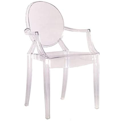 Fine Mod Clear Arm Chair
