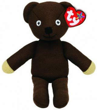 Plush Bean Mr Teddy Bear (Ty Beanie Mr Bean's Teddy Bear Buddy, TV Favourite and Perfect Plush!)