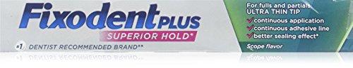 Fixodent Plus Scope Denture Adhesive Cream, 2 -