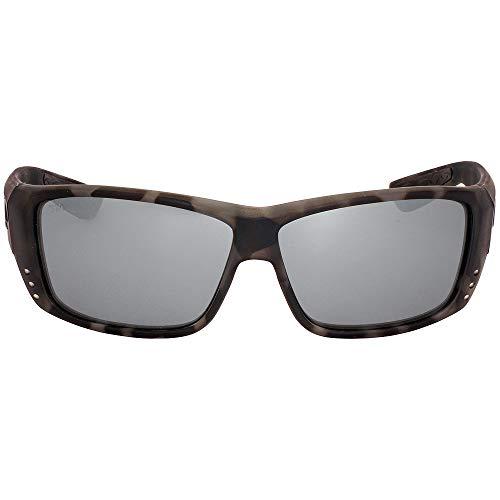 Costa Del Mar Cat Cay Sunglasses Ocearch Matte Tiger Shark/Gray Silver Mirror 580Glass