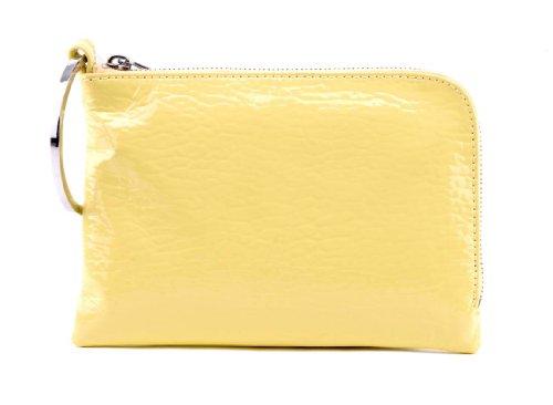 BREE, Poschette giorno donna light yellow glossy