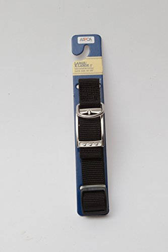 ASPCA Black Large/X-Large 1 Dog Collar - Adjustable Neck Size 16-26 1