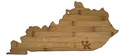 University of Kentucky State-Shaped Bamboo Cutting Board