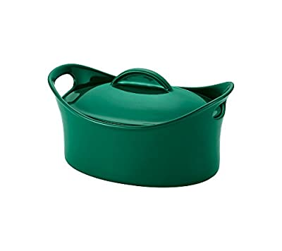 Rachael Ray 4.25-qt. Fennel Covered Oval Casserole Dish