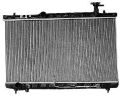 TYC 2389 Hyundai Santa Fe 1-Row Plastic Aluminum Replacement Radiator