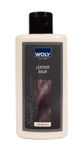 WOLY Leather Balm. German Leather Cream to CLEAN and CONDITION Designer Shoes and Handbags. Prevents leather dryness and cracking.