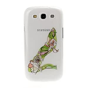 GHK - High Heel Pattern Fluorescent Effect Transparent Plastic Case for Samsung Galaxy S3 i9300