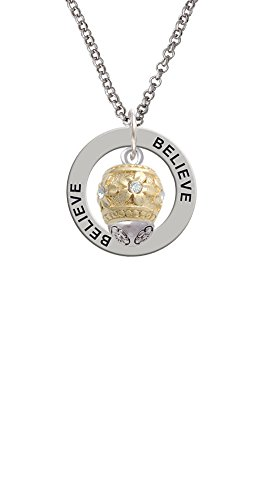raised-gold-tone-flowers-with-clear-crystals-spinner-believe-affirmation-ring-necklace