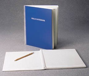 Nalgene PolyPaper Spiral Field Notebook; Burgundy polyeth. cover; 184 acid-free pages; 81/2 x (Burgundy Spiral)