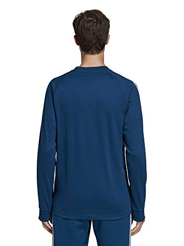 Camiseta rayas T de para manga hombre Adidas Legend Marine Ls larga 3 qpgFWnq