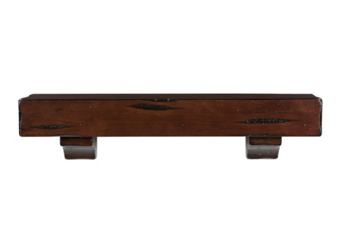 Pearl Mantels 412-48-70 Shenandoah Pine Wall Shelf, 48-In...