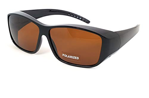 FIT OVER SUNGLASSES WITH POLARIZED ()