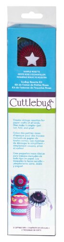 - Cuttlebug Quilling Kit, Scallop Rosette