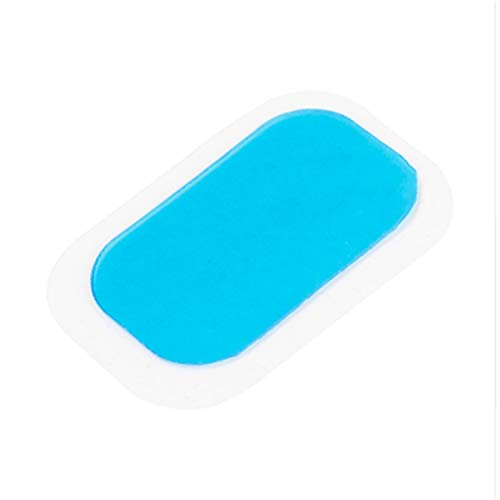 SSTQSAA 10pc Patch Pads Silicone Mat Gel Stickers For Wireless Smart EMS Abdominal Muscles Training Body Massager by SSTQSAA (Image #4)