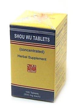 Shou Wu comprimés (K141): Shou Wu Pien de la phytothérapie chinoise