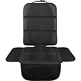 LIONSTRONG – Children's Car Seat Cover – Car Seat Protector – ISOFIX Compatible (black)