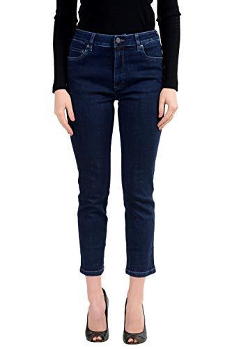 (Prada Blue Cropped Women's Jeans US 28 IT 42)